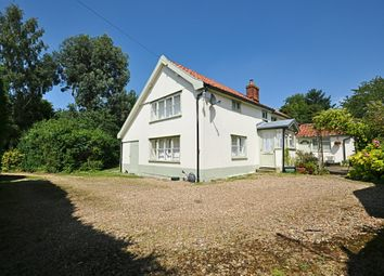 Thumbnail 4 bed detached house for sale in The Street, Winfarthing, Diss