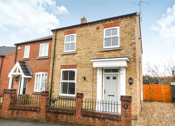 Thumbnail 3 bed semi-detached house for sale in Falcon Way, Sleaford, Lincolnshire