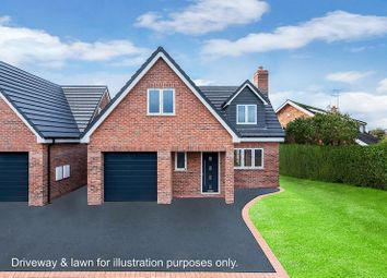 Thumbnail 4 bed detached house for sale in Padgbury Lane, West Heath, Congleton
