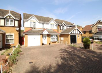 Thumbnail 4 bedroom detached house for sale in Challinor, Church Langley, Harlow
