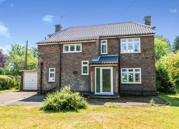 Thumbnail 3 bed detached house for sale in Vicarage Lane, Wainfleet St. Mary, Skegness