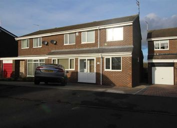 Thumbnail 5 bed semi-detached house for sale in Newlyn Drive, Parkside Dale, Cramlington