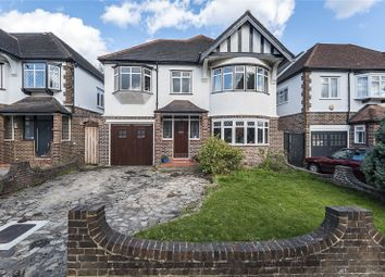 Thumbnail 5 bedroom detached house for sale in Pine Walk, Surbiton