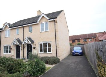 Thumbnail 3 bedroom semi-detached house for sale in Gimbert Road, Soham, Ely