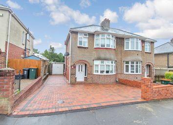 Thumbnail 3 bedroom semi-detached house for sale in Burton Road, Newport