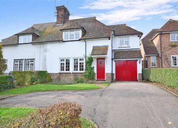 Thumbnail 3 bed semi-detached house for sale in Henfield Road, Cowfold, Horsham, West Sussex