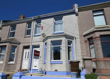 Thumbnail 3 bed terraced house for sale in Pomphlett Road, Plymstock, Plymouth
