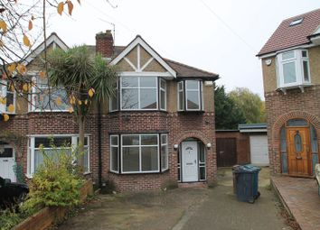 Thumbnail 3 bed semi-detached house to rent in Carisbrooke Close, Stanmore