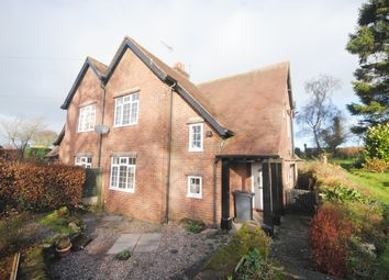Thumbnail 2 bed semi-detached house to rent in New Road, Hales, Market Drayton