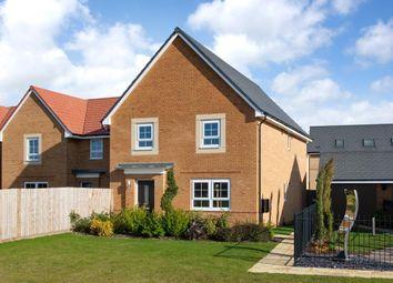 "Thumbnail 4 bed detached house for sale in ""Oakham"" at The Ridge, London Road, Hampton Vale, Peterborough"