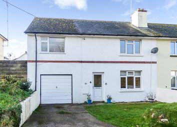 Thumbnail 4 bed semi-detached house for sale in Lea Road, Budleigh Salterton, Devon