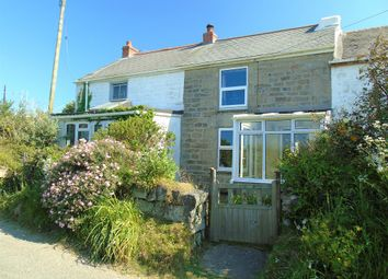 Thumbnail 2 bed terraced house for sale in Bowglas Cottages, Ludgvan, Penzance, Cornwall.