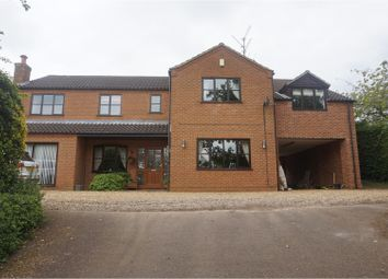 Thumbnail 5 bed detached house for sale in Wormegay Road, King's Lynn