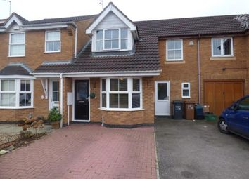 Thumbnail 3 bed terraced house for sale in Tewkesbury Close, Buckingham Fields, Northampton, Northamptonshire