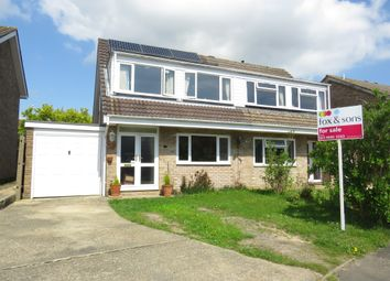 Thumbnail 3 bed semi-detached house for sale in Eastcot Close, Holbury, Southampton
