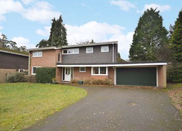 Thumbnail 4 bed detached house for sale in Bourne Firs, Lower Bourne, Farnham