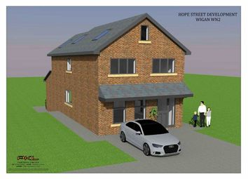 Thumbnail 4 bed detached house for sale in Hope Street, Aspull, Wigan