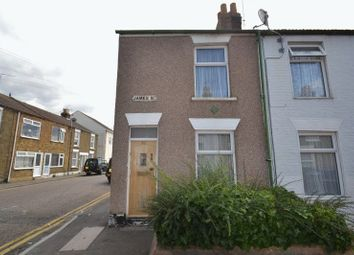 Thumbnail 2 bed end terrace house for sale in James Street, Sheerness