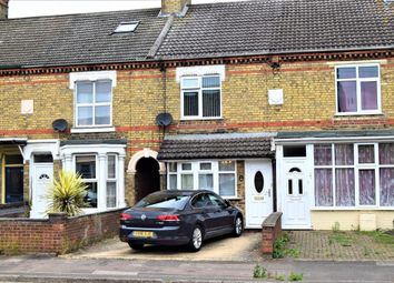 Thumbnail 3 bed terraced house for sale in Oundle Road, Peterborough, Cambridgeshire