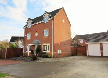 Thumbnail 4 bed detached house for sale in Buttercup Way, Bedworth