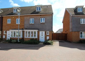 Thumbnail 4 bed end terrace house for sale in Dunnock Drive, Leighton Buzzard