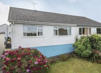 Thumbnail 2 bedroom semi-detached bungalow for sale in Bodinar Road, Penryn