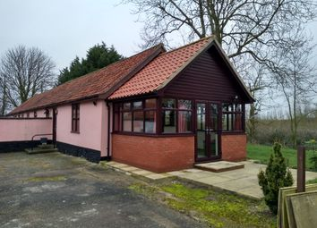 Thumbnail 1 bedroom terraced bungalow to rent in Fersfield Road, Bressingham, Diss