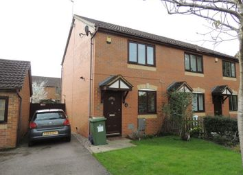 Thumbnail 2 bed end terrace house for sale in Braford Gardens, Shenley Brook End, Milton Keynes