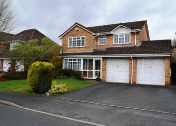 Thumbnail 4 bed detached house for sale in Essex Chase, Priorslee, Telford, Shropshire