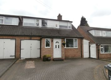 Thumbnail 3 bed semi-detached house for sale in Homestead Drive, Four Oaks, Sutton Coldfield