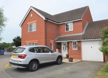 Thumbnail 4 bedroom detached house for sale in Forester Close, Pinewood, Ipswch