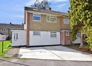 Thumbnail 4 bed semi-detached house for sale in Orchard Way, Barnham, Bognor Regis, West Sussex