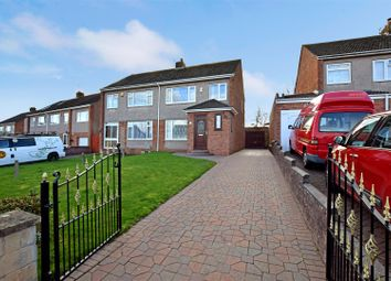 Thumbnail 3 bedroom semi-detached house for sale in Davin Crescent, Pill, Bristol