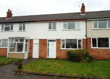 Thumbnail 2 bedroom terraced house for sale in Poulton Close, Moseley, Birmingham