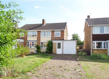Thumbnail 3 bed semi-detached house for sale in Nightingale Avenue, Hathern, Leicestershire