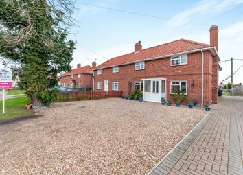 Thumbnail 4 bed semi-detached house for sale in Church Road, Aslacton, Norwich