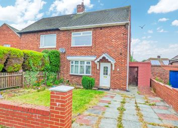 Thumbnail 2 bed semi-detached house for sale in Horton Avenue, Shiremoor, Newcastle Upon Tyne