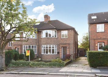 Thumbnail 3 bed semi-detached house for sale in Linkside, Woodside Park, London, 7Le