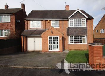 Thumbnail 4 bed detached house for sale in Tennyson Road, Redditch