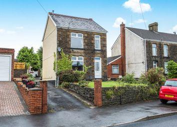 Thumbnail 3 bed detached house for sale in Llanllienwen Road, Cwmrhydyceirw, Swansea
