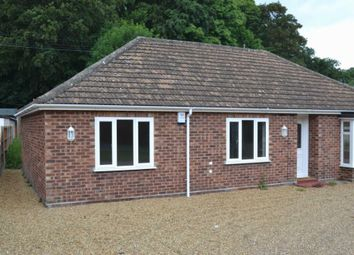 Thumbnail 2 bed bungalow to rent in Longwater Lane, New Costessey, Norwich