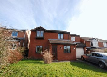 Thumbnail 4 bedroom detached house for sale in Sandmartin Close, Ashington