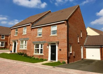 Thumbnail 4 bed semi-detached house for sale in Neptune Road, Westbury
