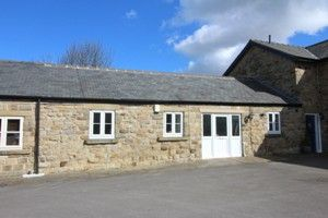 Thumbnail 2 bed barn conversion for sale in Hall Farm, Searston Avenue, Holmewood, Chesterfield