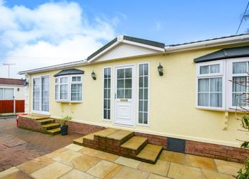 Thumbnail 2 bed bungalow for sale in Bartington Hall Park, Warrington Road, Bartington, Northwich