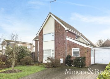 Thumbnail 3 bed detached house for sale in Breydon Way, Caister-On-Sea, Great Yarmouth