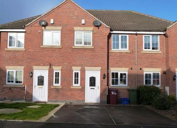 Thumbnail 3 bed town house to rent in Rose Gardens, Arkwright, Chesterfield, Derbyshire