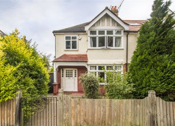 Thumbnail 3 bed semi-detached house for sale in Richmond Park Road, London