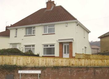 Thumbnail 2 bed semi-detached house for sale in Glyn-Dwr Avenue, Rhydyfelin, Pontypridd