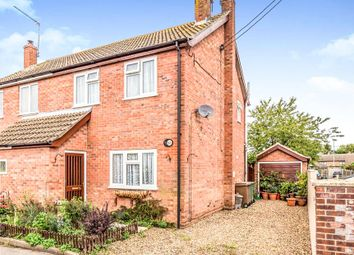 Thumbnail 2 bed semi-detached house for sale in The Street, Lenwade, Norwich
